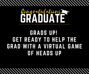 graduation party game