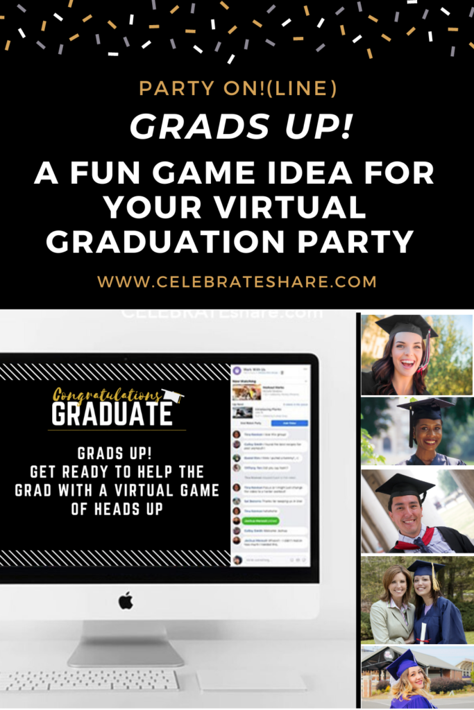 grads up virtual graduation party