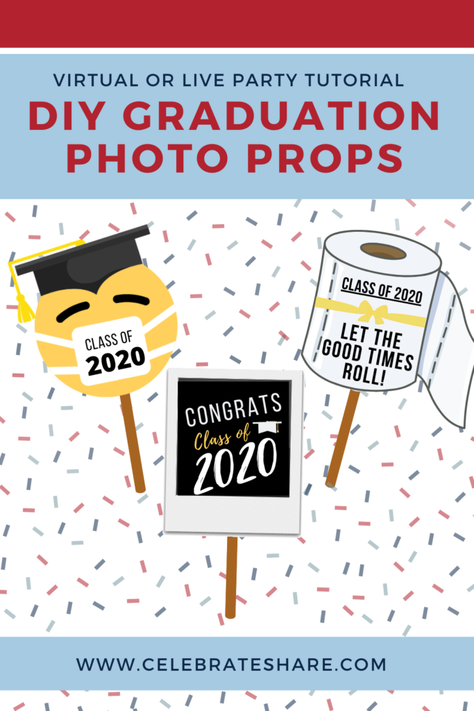 graduation party photo props