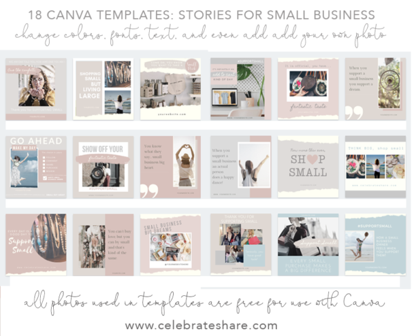 small business instagram templates